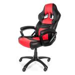 AROZZI MONZA herní židle / 115-125cm / PU kůže / černo-červený (MONZA-RD)