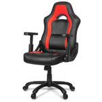 AROZZI MUGELLO herní židle / 115-125cm / PU kůže / černo-červený (MUGELLO-RD)