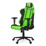 AROZZI TORRETTA herní židle / 120-128cm / kovová konstrukce / černo-zelený (TORRETTA-GN)