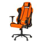 AROZZI TORRETTA XL herní židle / 120-128cm / kovová konstrukce / černo-oranžový (TORRETTA-XLF-OR)