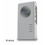 AKASA AK-HC-01WHEU / externí čtečka karet Allv1 / USB hub / USB2.0 / bílá (AK-HC-01WH)