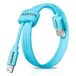 ADATA Synchronizační a napájecí kabel / USB / MFi (iPhone, iPad, iPod) / modrý (AMFIPL-100CM-CBL)