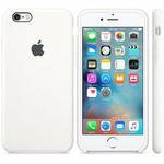 APPLE originální silikonový zadní kryt pro Apple iPhone 6S / bílé (MKY12ZM/A)