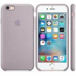APPLE originální silikonový zadní kryt pro Apple iPhone 6S Plus / fialový (LAVENDER) (MLD02ZM/A)