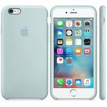 APPLE originální silikonový zadní kryt pro Apple iPhone 6S Plus / modrý (TURQUOISE) (MLD12ZM/A)