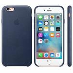 APPLE originální kožený zadní kryt pro Apple iPhone 6S Plus / modrý (MIDNIGHT) (MKXD2ZM/A)