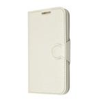 FIXED Pouzdro typu kniha s gelovou vaničkou pro Samsung Galaxy Core Prime (G360) / bílý (FIXBC-036-WH)