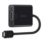 Belkin kabel USB 2.0 USB-C to VGA Adaptér (F2CU037btBLK)