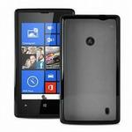 Puro kryt Clear pro Nokia Lumia 520 / černý (NK520CLEARBLK)