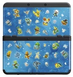 New 3DS Cover Plate 30 / kryt pro nové Nintendo 3DS / Pokemon Mystery Dungeon (NI3P11030)