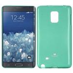 Mercury Jelly Case pro Samsung Galaxy Note 4 Edge (N915) / zelený (8592118819411)