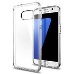 Spigen Ultra Hybrid / ochranný kryt pro Samsung Galaxy S7 / průhledný (555CS20008)