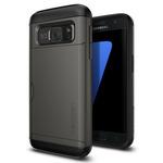 Spigen Slim Armor CS Gunmetal / pevné pouzdro pro Samsung Galaxy S7 / šedá (555CS20016)