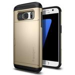 Spigen Slim Armor CS Gold / pevné pouzdro pro Samsung Galaxy S7 / zlatá (555CS20017)