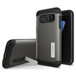 Spigen Slim Armor Gunmetal / pevný kryt pro Samsung Galaxy S7 Edge / šedá (556CS20038)