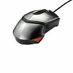 ASUS ROG GX1000 Eagle Eye bez podložky / herní laserová myš / 8 200 dpi / 7 tlačítek / USB / stříbrná (90-XB3B00MU00040-)