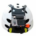 Rollei profesionální čelní držák na helmu pro kamery GoPro a ROLLEI (21625)