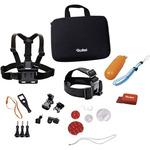 Rollei sada příslušenství pro vodní sporty / 22ks pro kamery ROLLEI a GoPro (21638)