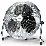 DOMO DO8130 Podlahový ventilátor 30cm / 3 rychlosti / 50W / 41.5 x 18 x 40.5 cm / kovový (DO8130)