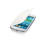 Bazar - Samsung flipové pouzdro pro Samsung Galaxy S III mini (i8190) / Bílé (EFC-1M7FWEGSTD.bazar)