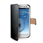 CELLY Wally pouzdro typu kniha pro Samsung Galaxy S3 a S3 Neo / PU kůže / černý (WALLY232)