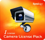 Synology Camera Licence Pack x 1 (CAMERA LICENSE PACK (X 1))
