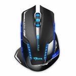 E-Blue Mazer Pro / Herní optická myš / 2500DPI / 6 tlačítek / 1 kolečko / drátová (USB) / černá (EMS600BKAA-IU)