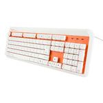 E-BLUE K738 / multimediální / drátová (USB) / US / oranžová (EKM738OG)