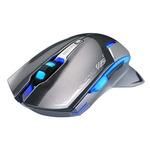 E-Blue Mazer-R II / 2.4GHz / Herní bezdrátová optická myš / 2500DPI / 6 tlačítek / 1 kolečko / 2ks AA / šedá (EMS601GY)