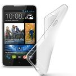 Cellularline SHAPE TPU pouzdro pro HTC Desire 516 / čirý (SHAPECDESIRE516T)