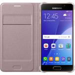 Samsung flipové pouzdro s kapsou pro Galaxy A3 2016 / růžová (EF-WA310PZEGWW)
