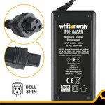 Whitenergy AC adaptér 90W / pro notebooky Dell / 20V / 4.5A / konektor 3-pin (4089W)