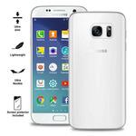 Puro zadní kryt pro Samsung Galaxy S7 ULTRA-SLIM 0.3 s fólií na displej / transparentní (SGS703TR)