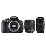 Canon EOS 700D + 18-55mm IS STM + 55-250mm IS / 18 Mpix / CMOS / 3 dotykové LCD (8596B084)