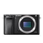 Sony Alpha 6000 tělo / 24,3 Mpix / CMOS / FullHD video / 3 LCD / bez objektivu / černá (ILCE6000B.CEC)
