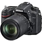 NIKON D7100 + 18-140 AF-S DX VR / 24,1 Mpix / CMOS / 3 LCD / černá (VBA360K002)