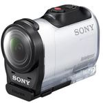 Sony HDR-AZ1VR Action Cam mini + live view ovladač / 16.8 Mpx CMOS / NFC / WiFi / Bílá (HDRAZ1VR.CEN)