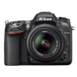 NIKON D7100 + 18-300 VR F3.5-6.3 / 24,1 Mpix / CMOS / 3 LCD / černá (VBA360K005)
