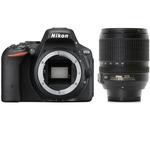 NIKON D5500 + 18-105mm VR / 24.2 Mpix / CMOS / 3.2 LCD / černý (VBA440K004)
