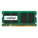 CRUCIAL 1GB DDR2 SO-DIMM / 800MHz / PC2-6400 / CL6 / 1.80V (CT12864AC800)