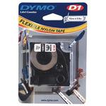 Dymo orig. páska, 16957, S0718040, černý tisk/bílý podklad, 3.5m, 12mm