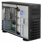 SUPERMICRO Tower 4U / 8x 3.5 HS SAS / SATA / 2x 5.25 / 1x 5.25 pro 3.5 / 920W (80PLUS Platinum) (CSE-745TQ-920B)