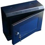 DATACOM 10 rack jednodílný 6U 280 černé / skleněné dveře (5027125023)