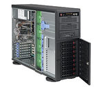 SUPERMICRO SC745TQ-R920B / 8 x 3.5 SAS / SATA Hot-swappable / redundant 1+1 / Tower / 4U chassis (SC745TQ-R920B)