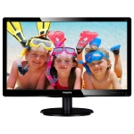 "19"" LCD PHILIPS 196V4LSB2 / LED / 1366 x 768 / TN / 16:9 / 5ms / 10m:1 / 200cd/m2 / VGA / DVI-D / VESA / �ern�"