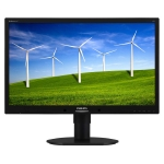 "22"" PHILIPS 220B4LPYCB / LED / 1680 x 1050 / TN / 16:10 / 5ms / 250cd-m2 / 20mil:1 / DVI / DP / Repro / Pivot / �ern�"