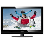 "21,5"" PHILIPS 221TE4LB1 / LED / 1920 x 1080 / TN / 16:9 / 5ms / 250cd-m2 / 20mil:1 / USB / VGA / HDMI / DVB-T / �ern�"