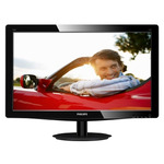 "19"" PHILIPS 196V3LSB / LED / 1366 x 768 / TN / 16:9 / 5ms / 1000:1 / 250cd-m2 / VGA / DVI-D / �ern�"