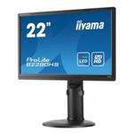 21,5 IIYAMA B2280HS-B1 / LCD / 1920 x 1080 / LED / 16:9 / 5ms / 1000:1 / 250cd-m2 / HDMI / DVI / Repro / Pivot / Černý (B2280HS-B1)