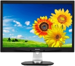 24 PHILIPS 240P4QPYEB / LED / 1920 x 1200 / IPS / 16:10 / 7ms / 20mil:1 / 300cd-m2 / VGA+DVI+DP / Repro / Pivot / Černý (240P4QPYEB/00)